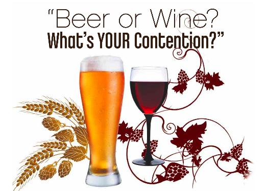 wine or beer