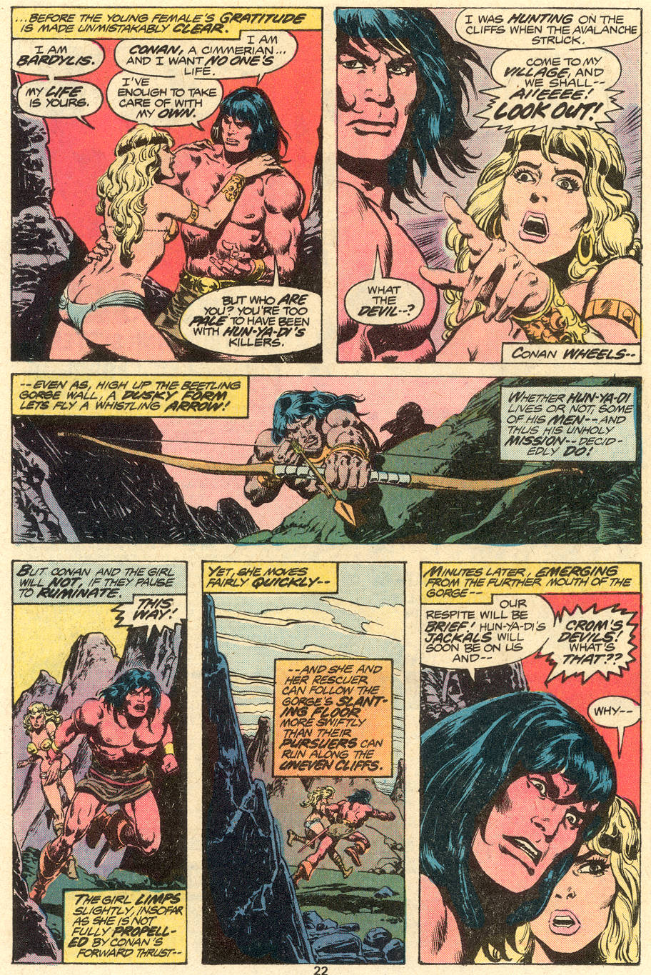 Conan the Barbarian (1970) Issue #79 #91 - English 13