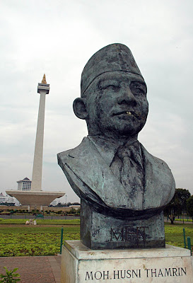 MH Thamrin statue, Jakarta