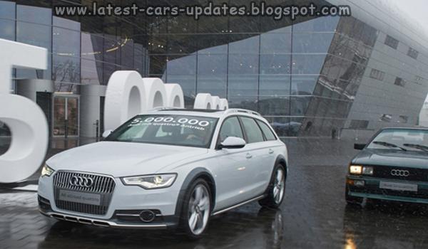 Audi Quattro 5 Millionth car
