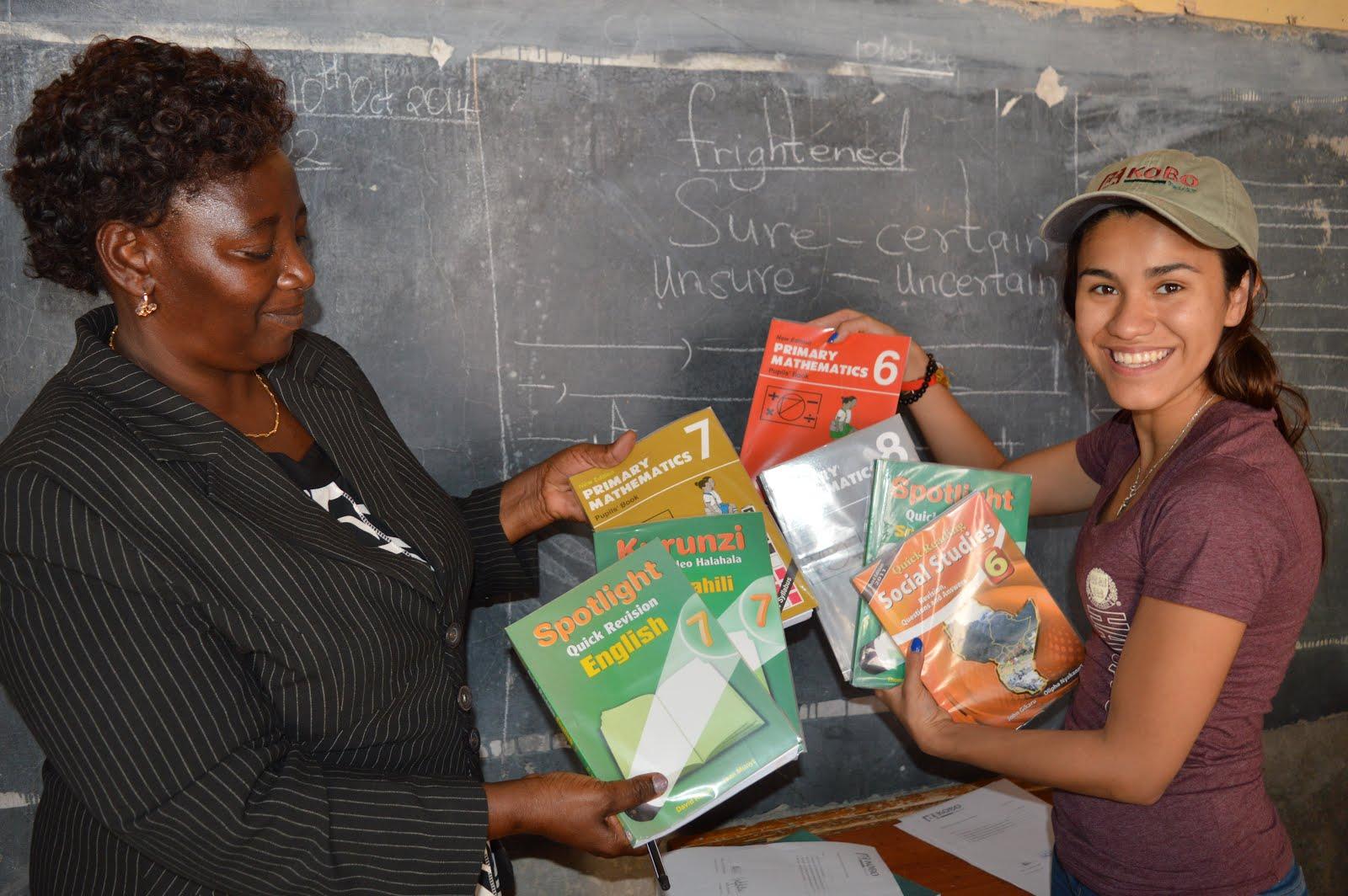 The Kobo Trust compra material escolar!