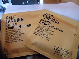 Self tanning, autobronzant, lingettes bronzantes
