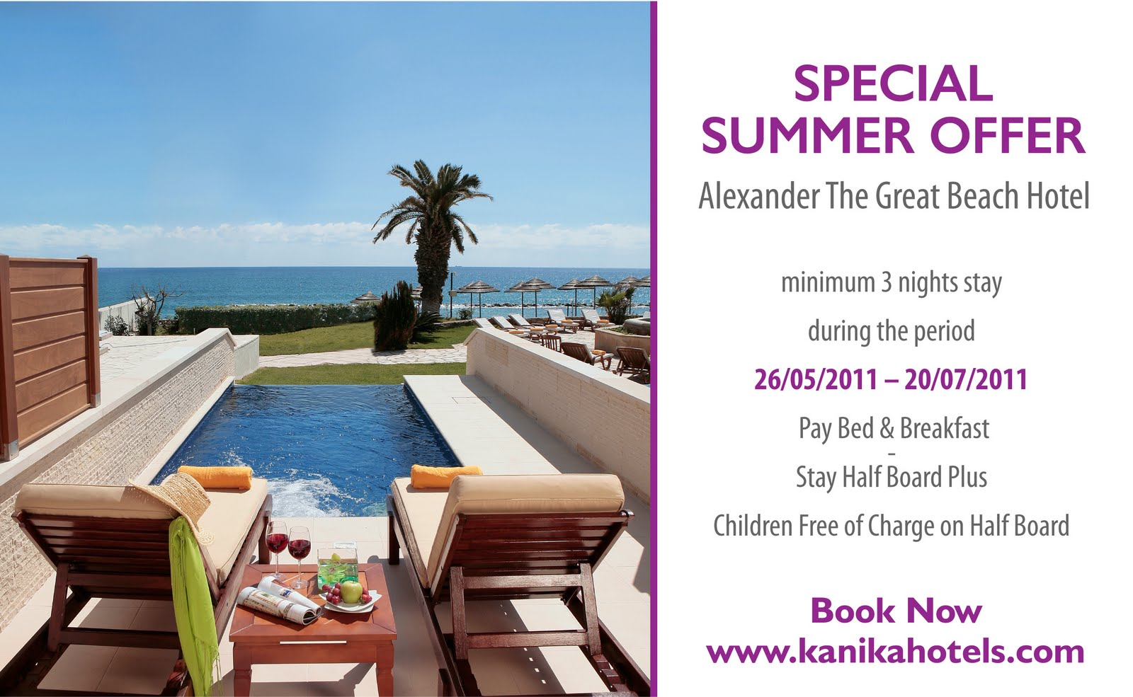 kanika hotels cyprus alexander the great beach hotel