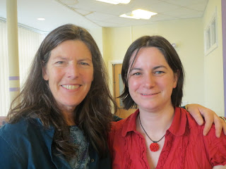 Photo of Sarah Shriver and Cara Jane
