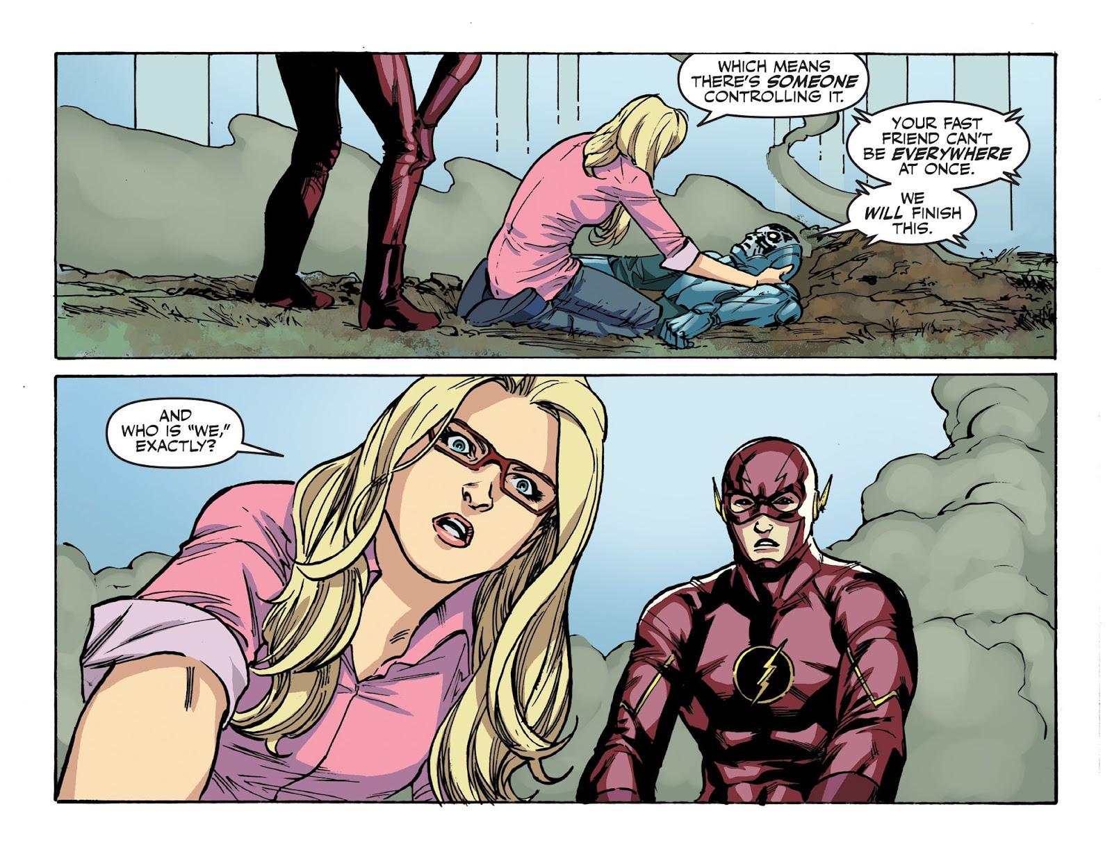 The Flash: Season Zero [I] Issue #10 #10 - English 21