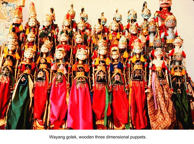 Puppet Rod Wayang Golek