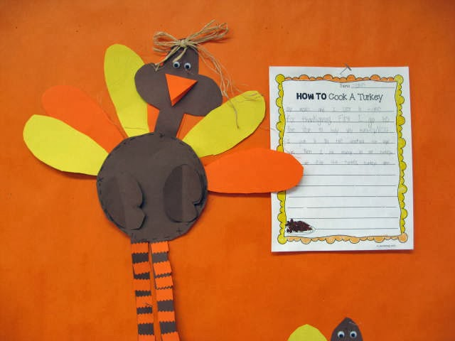 This is a photo of Simplicity 2nd Grade Thanksgiving Crafts