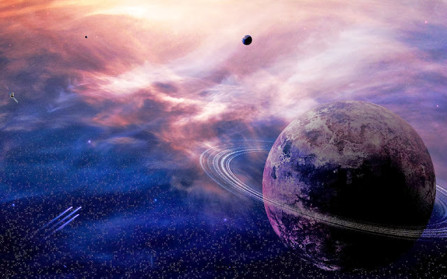 Planet from Other Universe