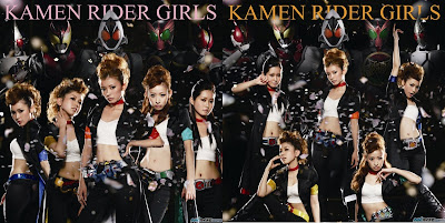 "Kamen Rider GIRLS' ""Saite"" Covers"