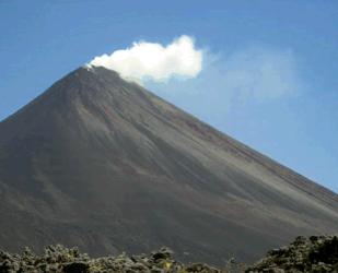 Volcán Pacaya en erupción, 30 de Diciembre 2012