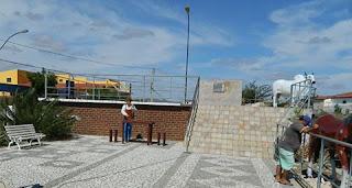 Em Picuí jovens vandalizam na 'Praça do Boi'
