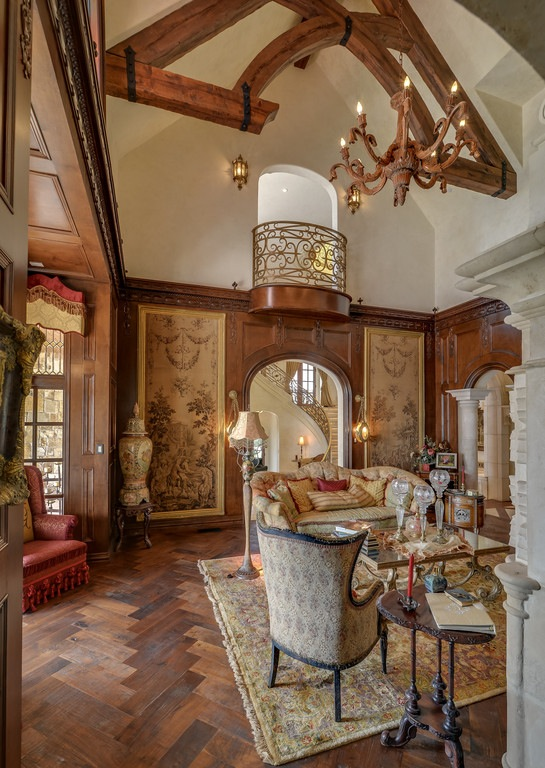 Old world gothic and victorian interior design more old for Old world architecture