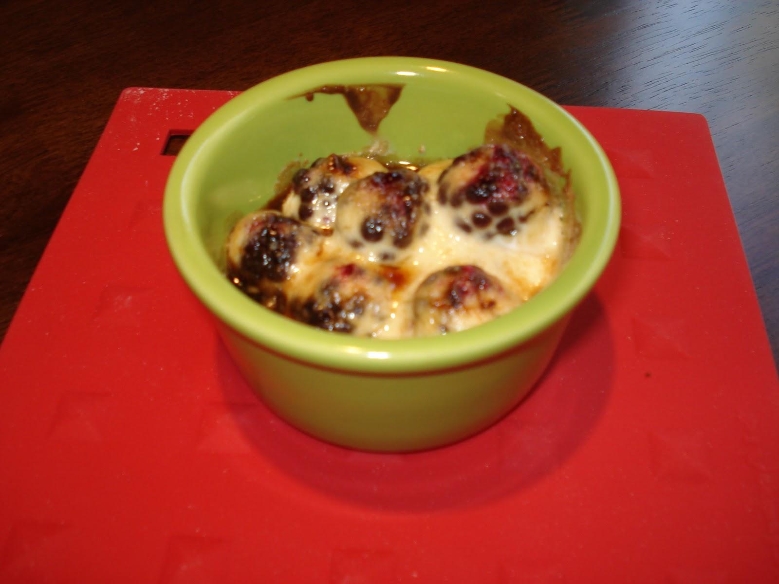 My Big Green Cookbook: Blackberries Brown Sugar Gratin