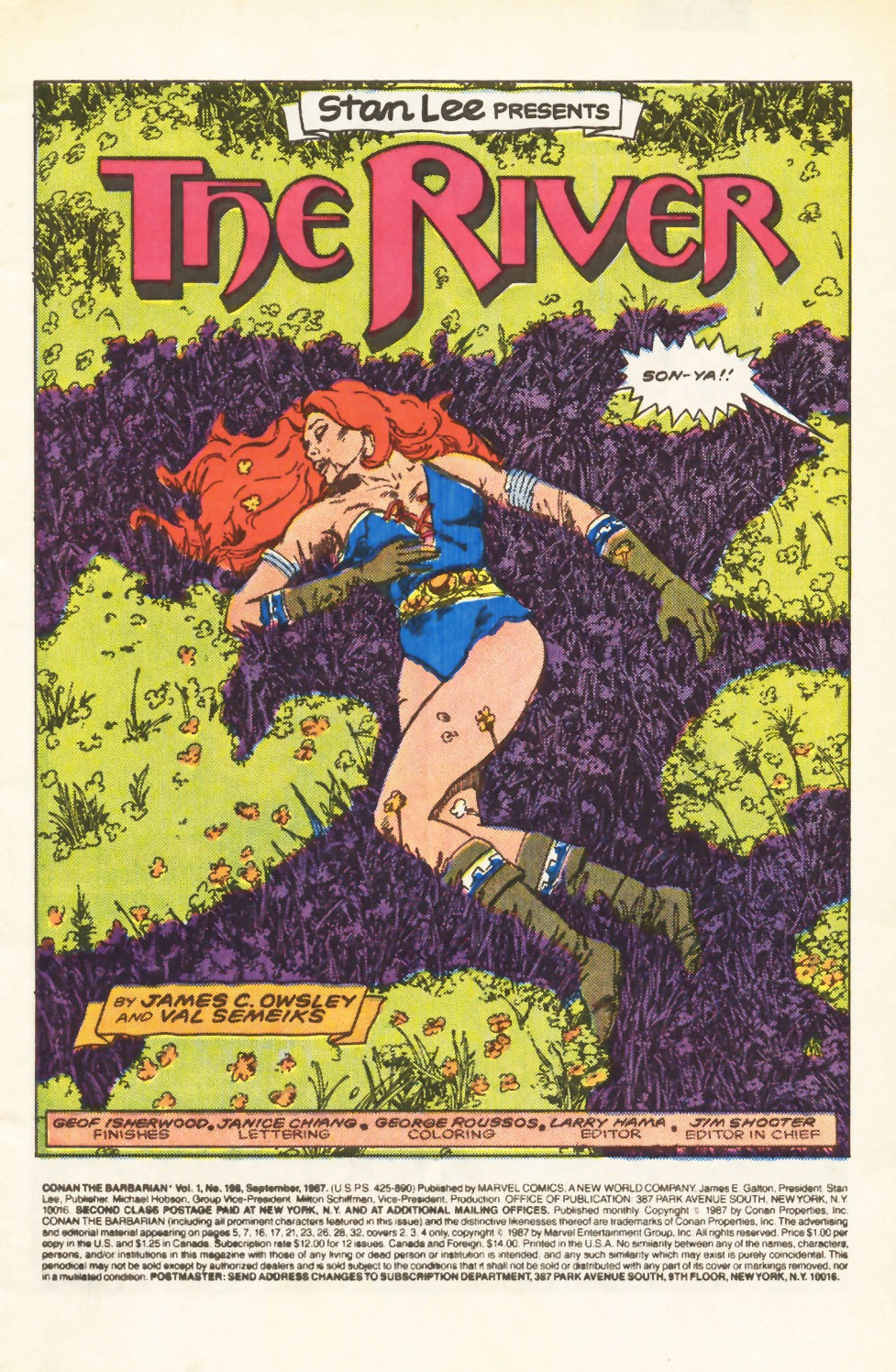 Conan the Barbarian (1970) Issue #198 #210 - English 2