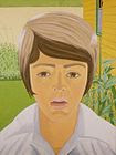 Pop Art -   Alex Katz, 1970 Vincent with Open Mouth