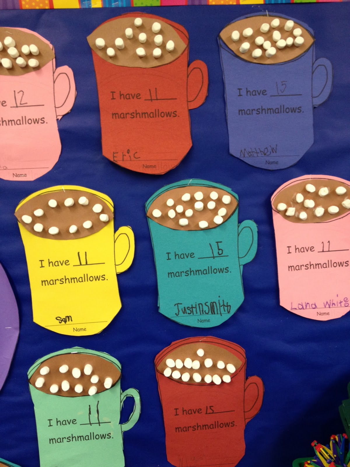 Hot Cocoa Mug Template Viewing Gallery