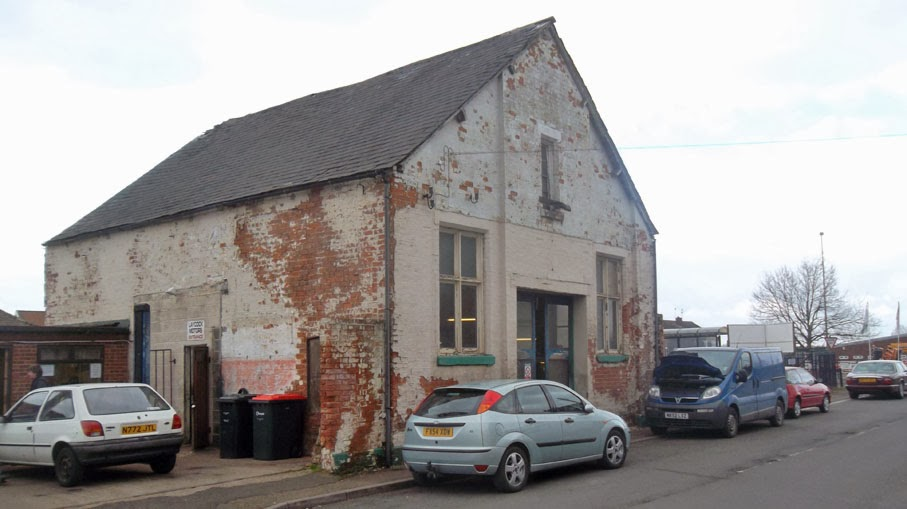 Forrester Hall Garage in Brigg - Nigel Fisher's Brigg Blog