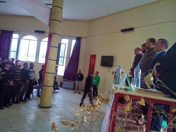 تاونات: دحمان والسطي يستعرضان في لقاء تواصلي مستجدات الحوار الاجتماعي والقطاعي مع الشغيلة التعليمية