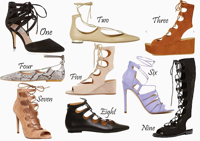 Shoes, Footwear, Lace Up Flats, Lace Up Wedge, Fashion, Spring, Summer, Chloe, Aquazzure