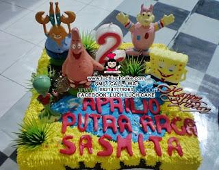 Spongebob Birthday Cake Daerah Surabaya - Sidoarjo