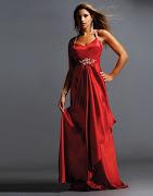 Vestidos exclusivos de Graduación vestido rojo graduacion