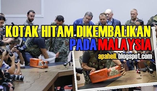 Kotak Hitam Dikembalikan Kepada Malaysia (8 Gambar)