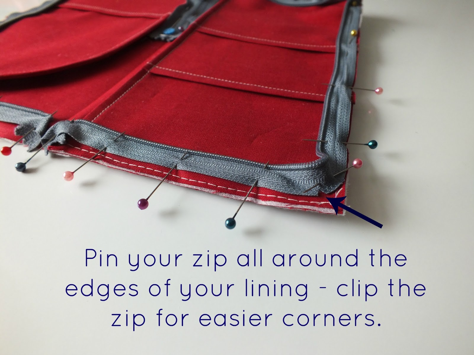 Elevenses with mrs l all around zip tutorial jeuxipadfo Image collections
