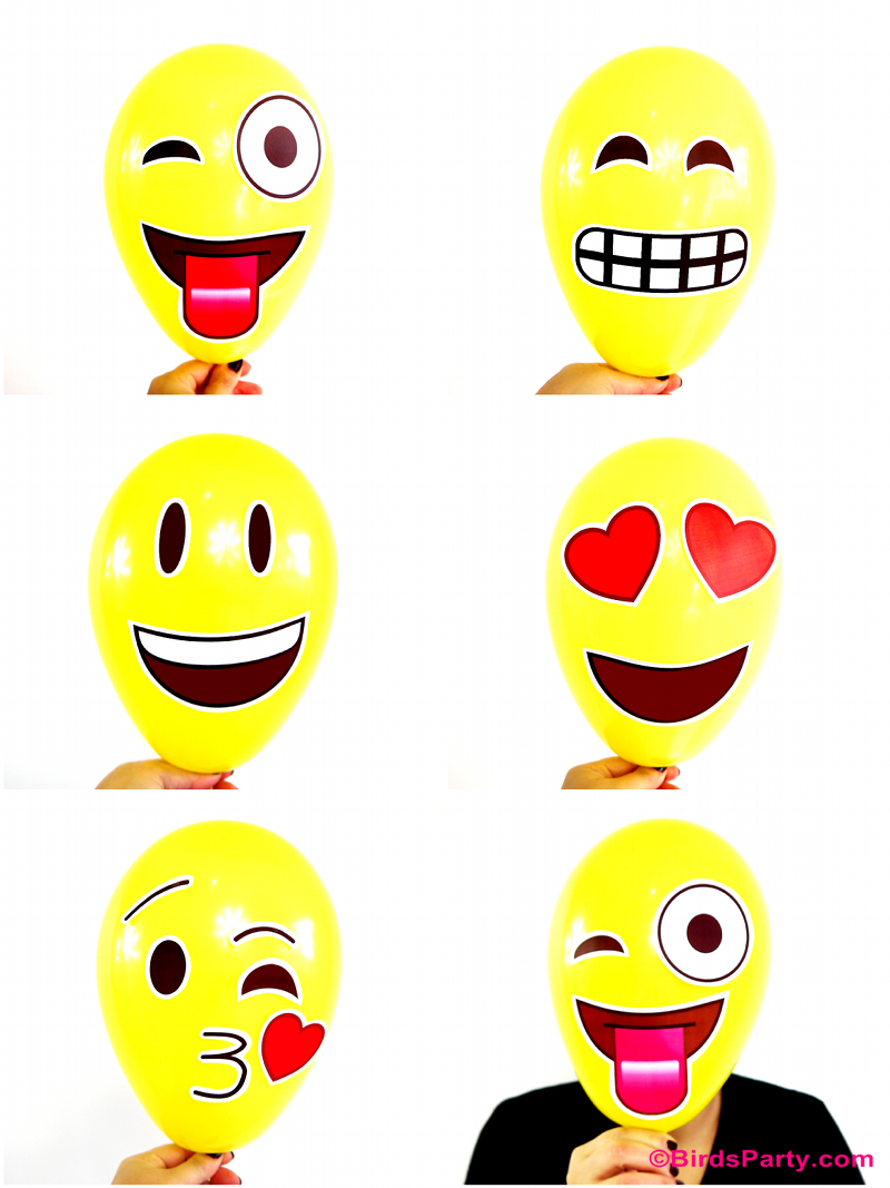 Emoji Party DIY Photobooth