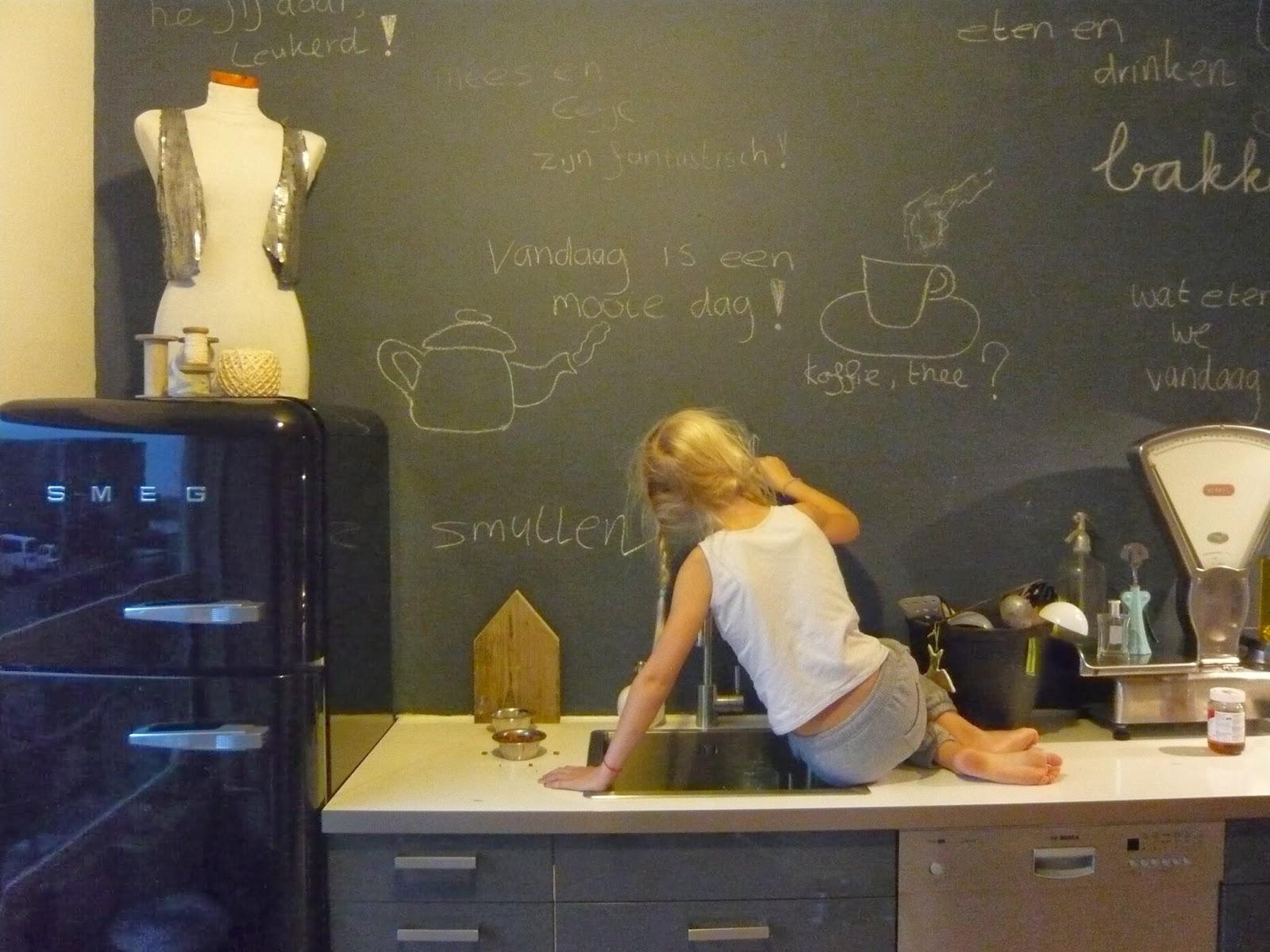 Binnenkijken Marieke Rusticus : Marieke rusticus styling kitchenwall