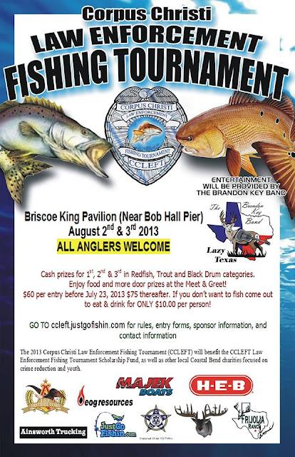 Corpus christi law enforcement fishing for Online fishing tournament