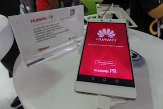Huawei P8 smartphone, P8, P8 lite