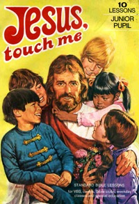 jesus touch me inappropriate funny school book