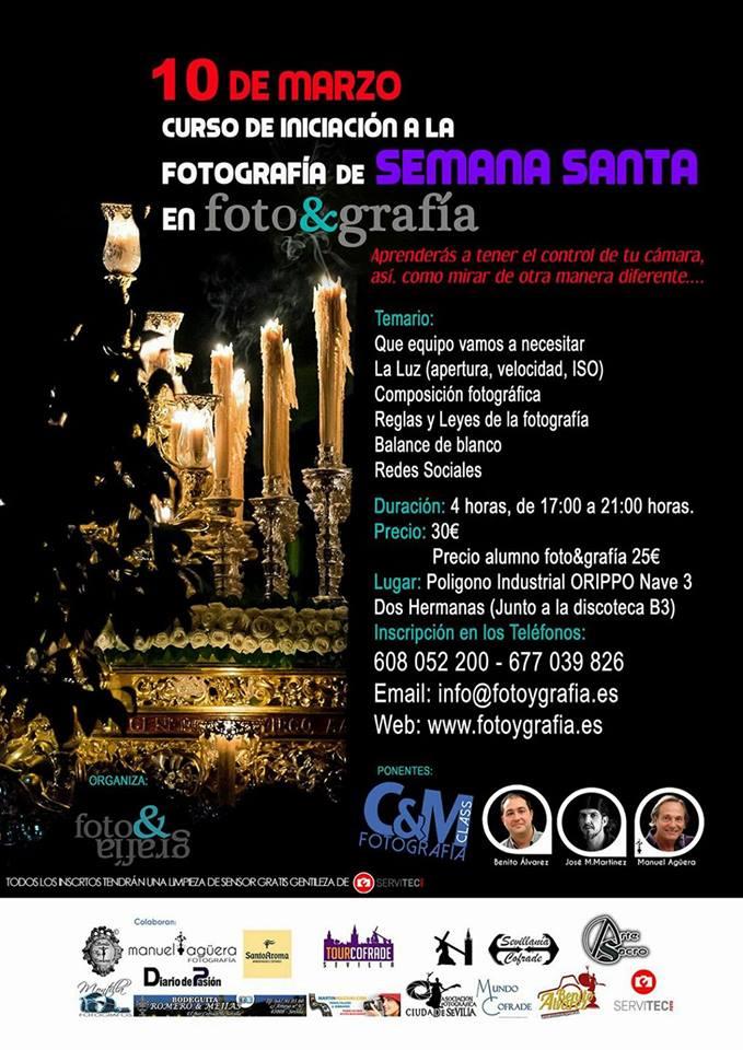 Curso de iniciación a la fotografía de Semana Santa
