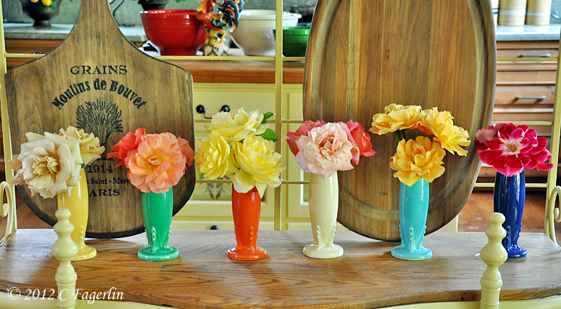 Vintage Fiesta From The Little Round Table Bud Vase