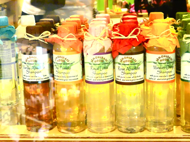 Lemongrass House shower gels