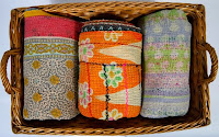 Shop Vintage Indian Kantha Quilts