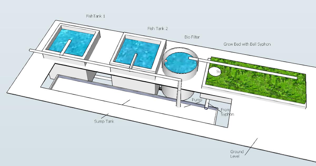 Chico Aquaponic An Under Ground Aquaponic Concept