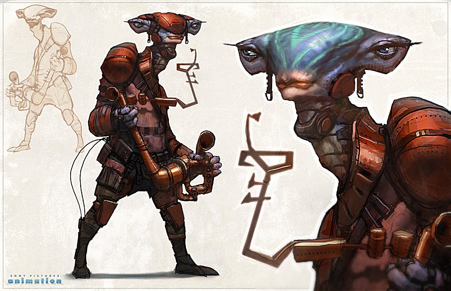 Creature And Character Design Book : Character and creature design notes the use of