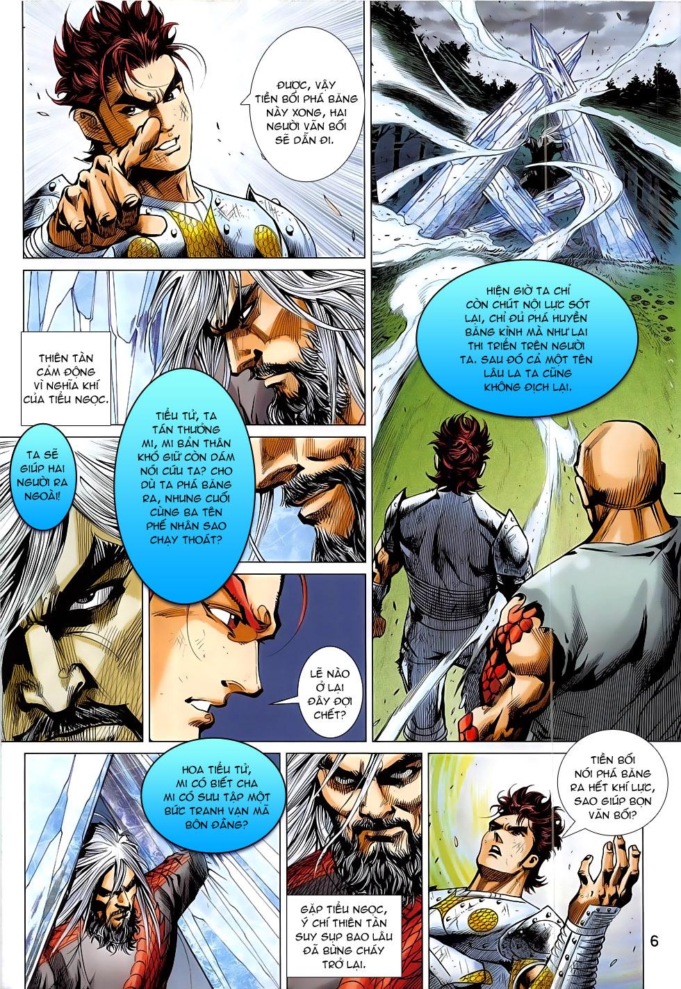 Thần Chưởng - Chap 7