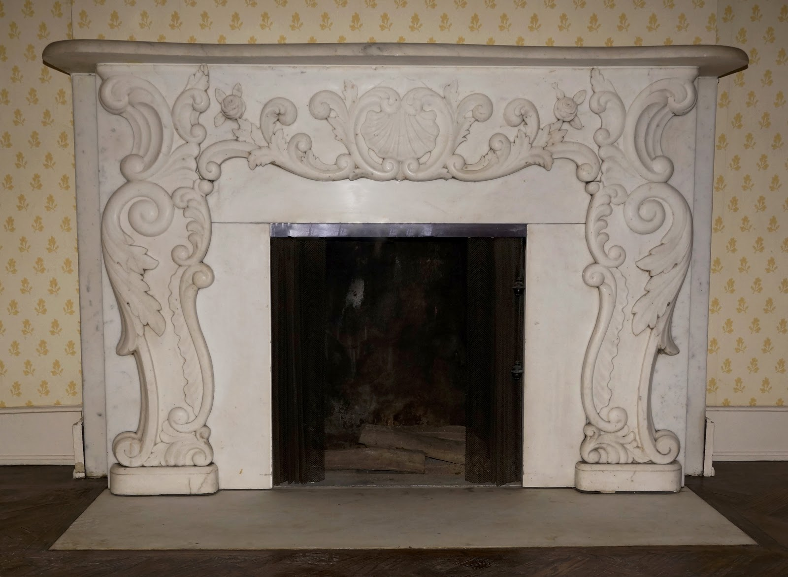 Malcolm Forbes Townhouse's Marble Fireplace