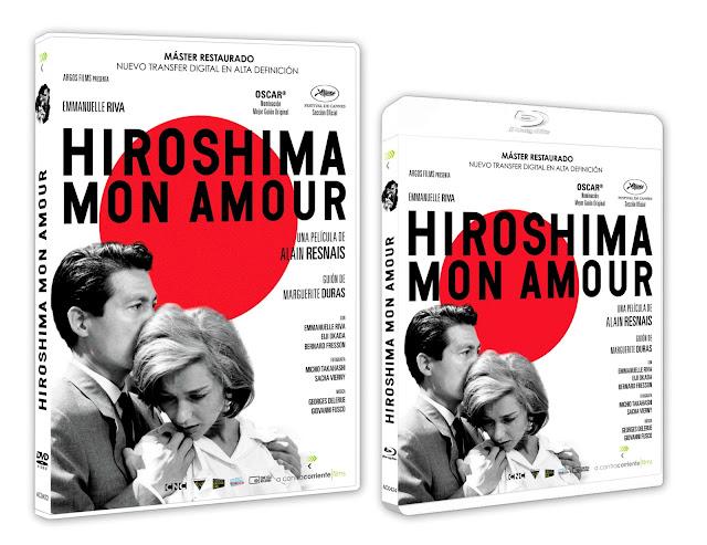En septiembre llegará 'Hiroshima, Mon Amour' en DVD y Blu-ray con nuevo máster restaurado a 4K