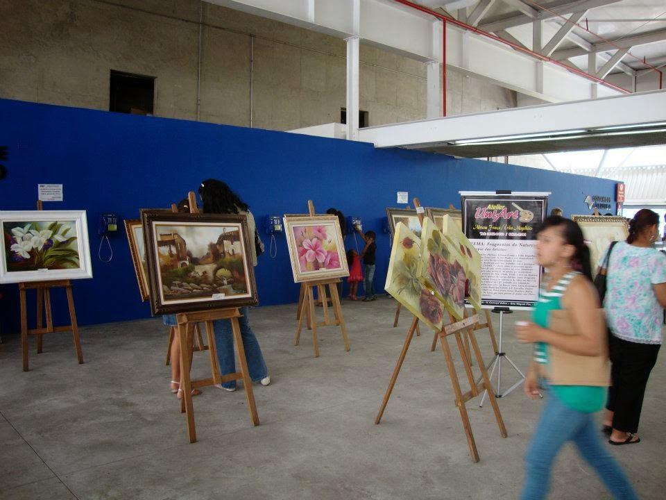 exposição Poupatempo Itaquera