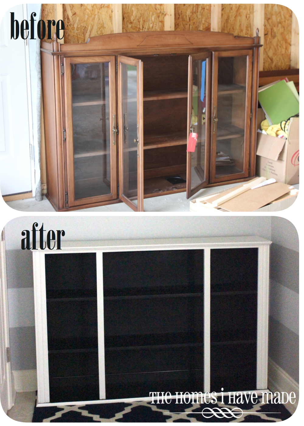 Dresser Makeover {Living Room Update}