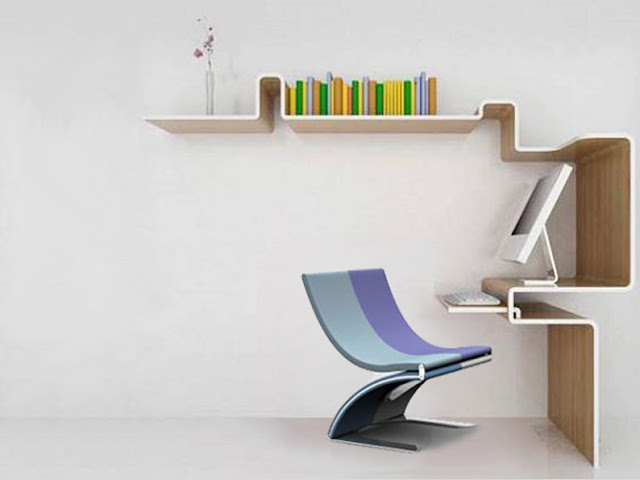 Dise o de mueble para computadora y librero de madera for Diseno de mesa de computadora