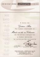 Certificado Internacional