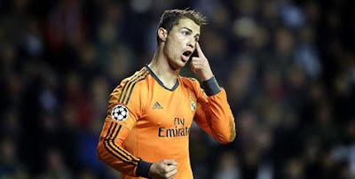 Cristiano Ronaldo (Real Madrid) - Inidia 10 Striker Paling Mematikan di Eropa Sejauh Ini