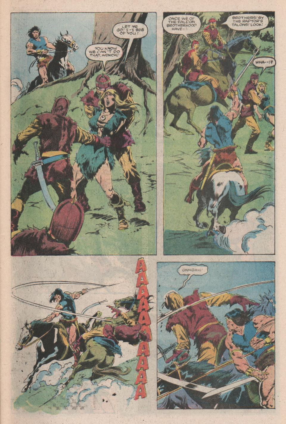 Conan the Barbarian (1970) Issue #171 #183 - English 4