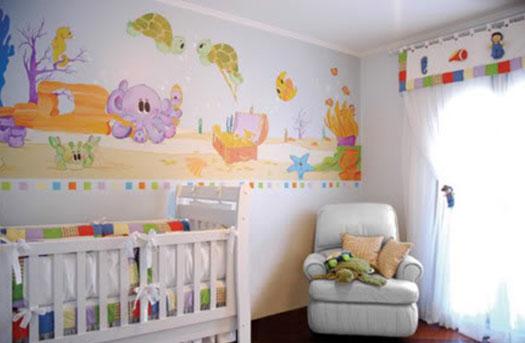 decoracao interiores quarto bebe – Doitricom