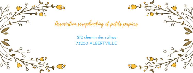 Association Scrapbooking et Petits Papiers Alberville