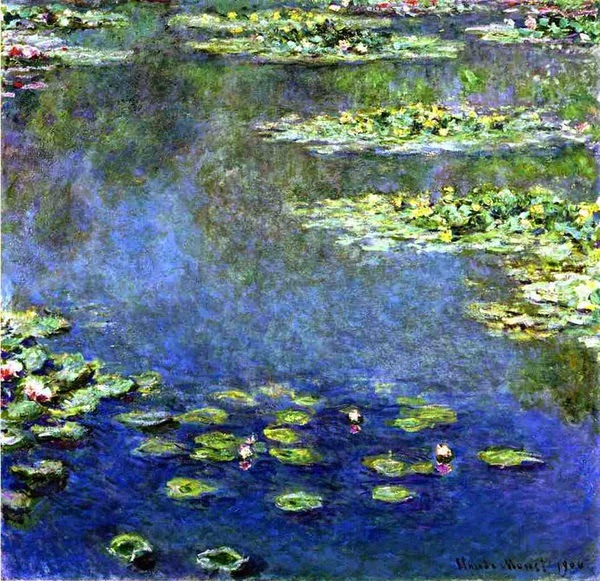 Claude Monet Water Lilies.